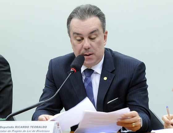 O deputado Ricardo Teobaldo (Foto: Luis Macedo / Câmara dos Deputados)