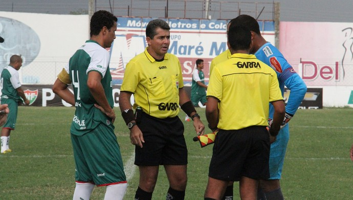 Árbitro Emanoel Eduardo Marinho, do RN - FNF (Foto: Canindé Pereira/Divulgação)