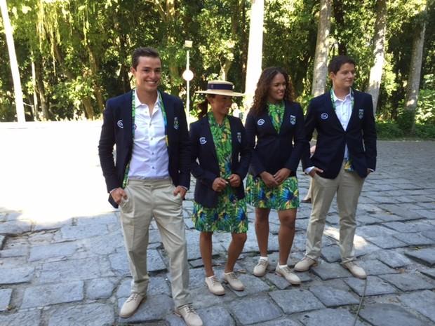 b3f68e717 EGO - Lenny Niemeyer fala sobre criação de uniformes para atletas na ...