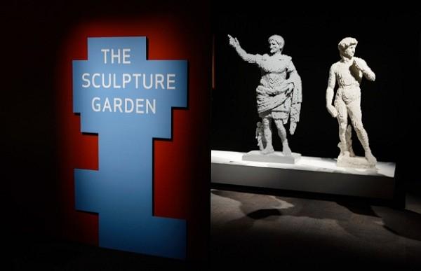 Obras de arte mundialmente conhecidas também ganham releituras construídas com peças de Lego  (Foto: Divulgação)
