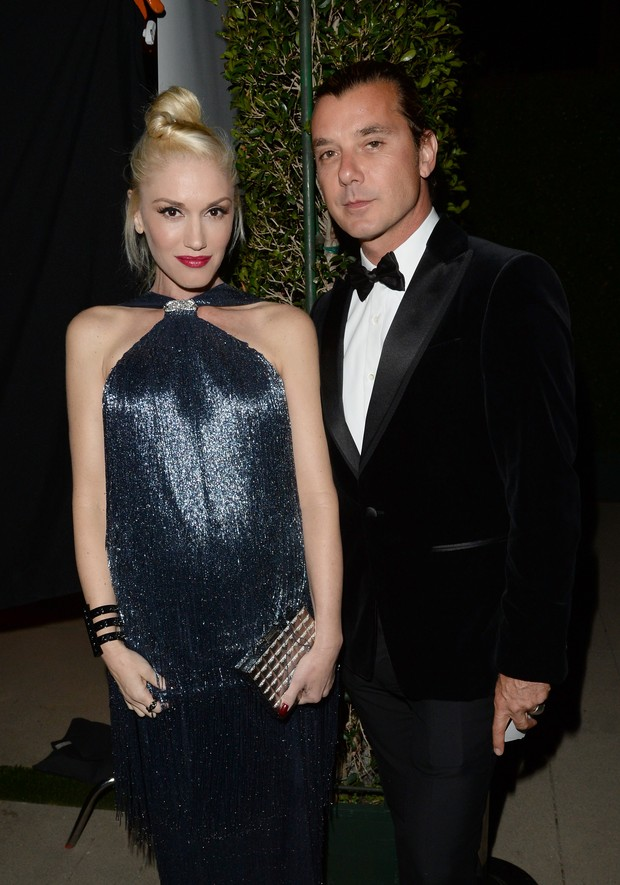 Gwen Stefani e Gavin Rossdale em evento em Los Angeles, nos Estados Unidos (Foto: Charley Gallay/ Getty Images/ AFP)