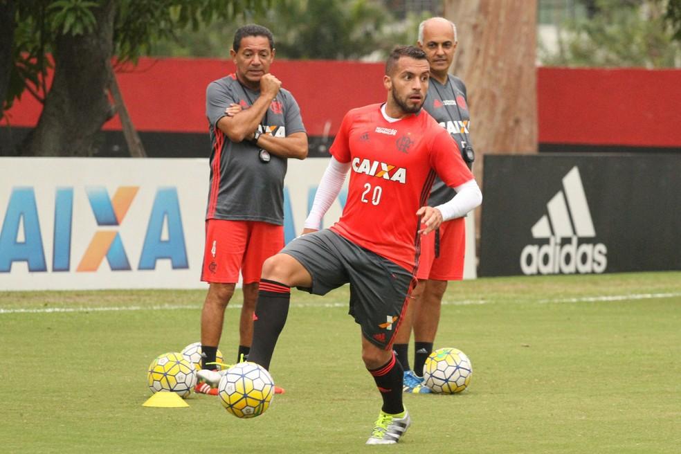 Canteros não está nos planos do Flamengo (Foto: Gilvan de Souza/Flamengo)