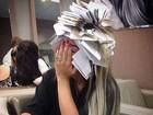 'Cobrando baratinho para assustar', diz Geisy Arruda em foto exótica