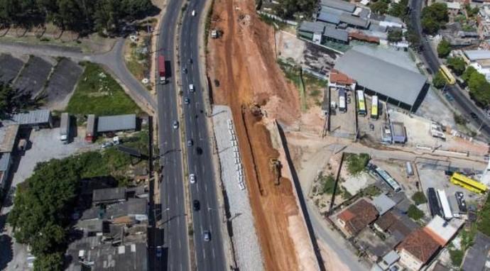 BRT Antônio Carlos / Pedro I Belo Horizonte Mobilidade Urbana Copa (Foto: Portal da Copa / Divulgação)