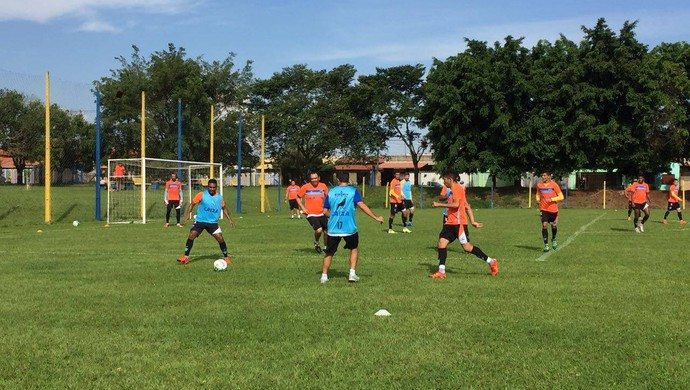 Paysandu treina em Londrina (Foto: Vitor Maia/Paysandu)