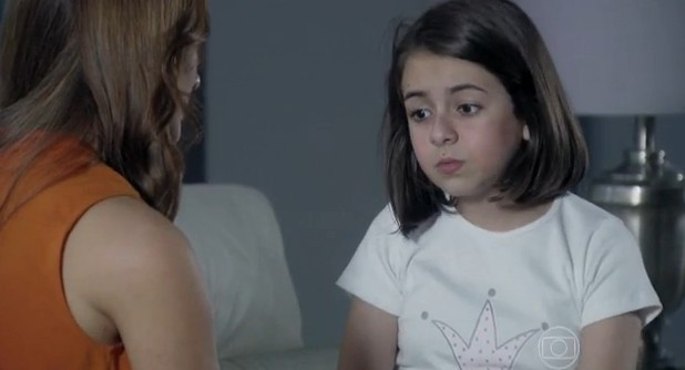 Personagem Paulinha (Klara Castanho) da novela 'Amor à Vida' (Foto: Reprodução/TV Globo)