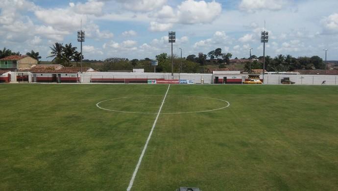 Estádio Olival Elias, em Boca da Mata (Foto: Everton Luiz/Arquivo Pessoal)