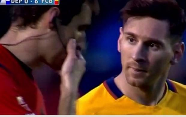 BLOG: Mistério! Imprensa espanhola especula sobre conversa entre Messi e árbitro