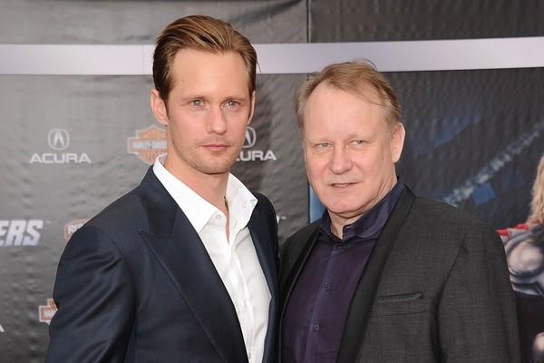 Alexander e Stellan Skarsgard (Foto: Getty Images)