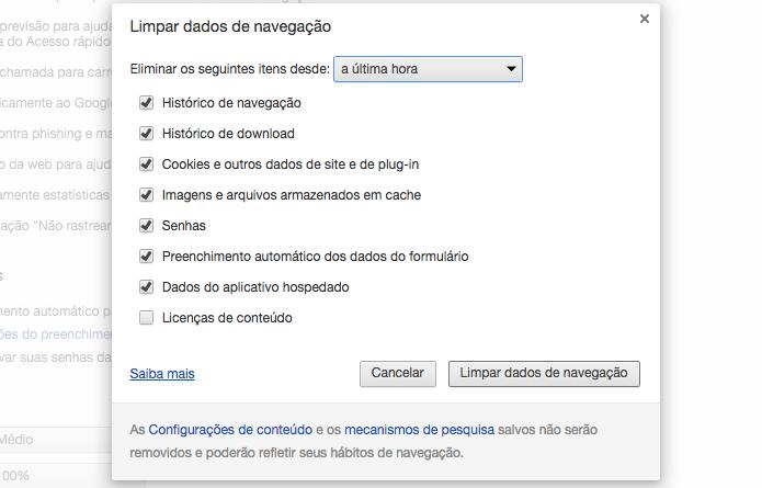 Exclua dados de Internet para melhorar o streaming (Foto: Reprodução/Paulo Alves)