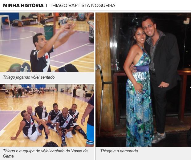 Minha História Thiago Baptista Nogueira, Eu Atleta (Foto: Arquivo Pessoal)
