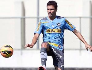 Bolívar treino Botafogo (Foto: Ivo Gonzalez / Agencia O Globo)