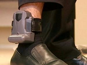 Justiça Federal em São Paulo não tem convênio para uso de tornozeleira eletrônica (Foto: TV Globo/Reprodução)