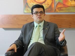 Gilmar Olarte - prefeito de Campo Grande MS (Foto: Fernando da Mata/G1 MS)