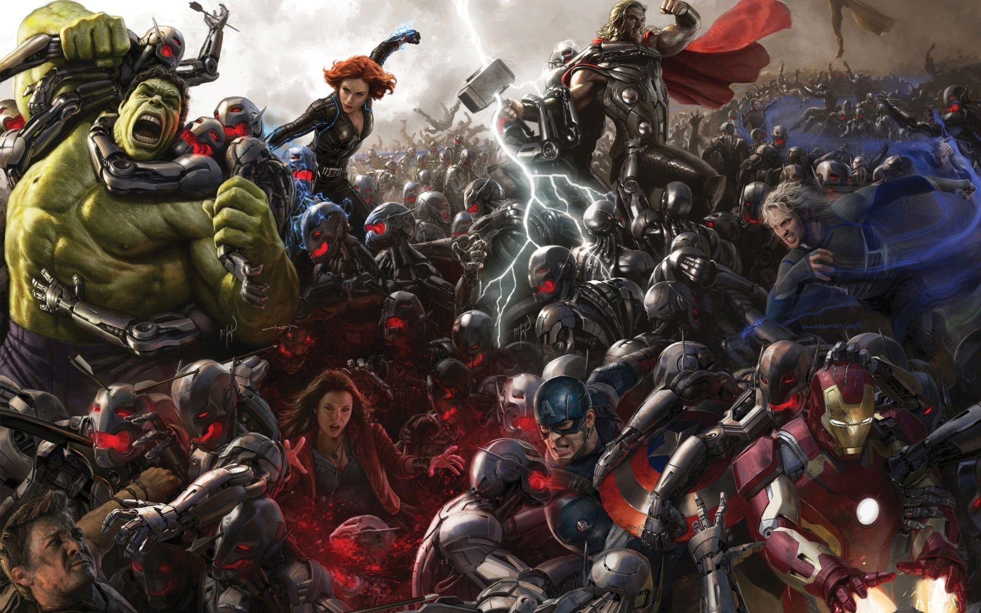 Os Vingadores enfrentam um podereoso inimigo (Foto: Divulgação)