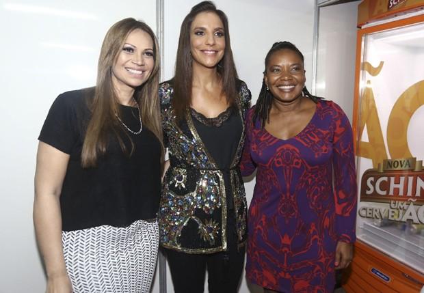 Solange Almeida, Ivete Sangalo e Margareth Menezes (Foto: Ricardo Cardoso/Ed Globo)