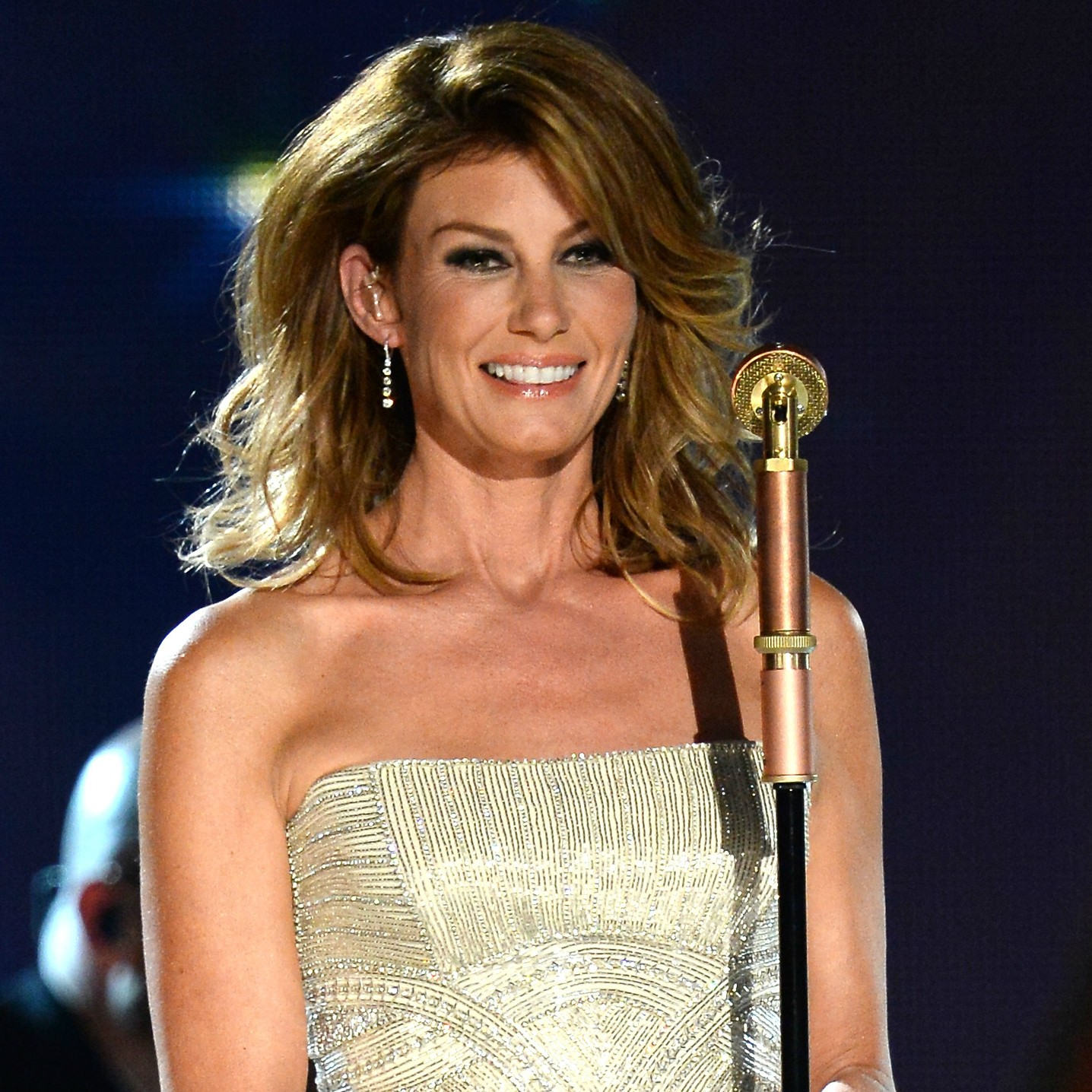 A pessoa: Audrey Faith Perry. A cantora: Faith Hill. (Foto: Getty Images)