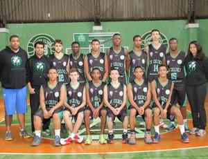 Equipe sub-17 JF Celtics (Foto: JF Celtics/Divulgação)