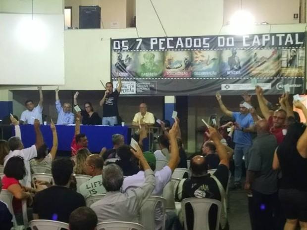 Bancários aprovaram o fim da greve no Rio de Janeiro (Foto: Divulgação)