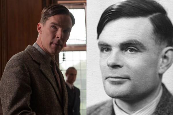 Benedict Cumberbatch e Alan Turing (Foto: Divulgação/Reprodução)