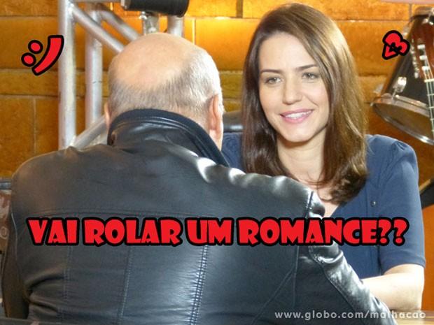 E o sorriso lindo da Raquel??? Nem parece aquele doutora mal humorada, né? (Foto: Malhação / Tv Globo)