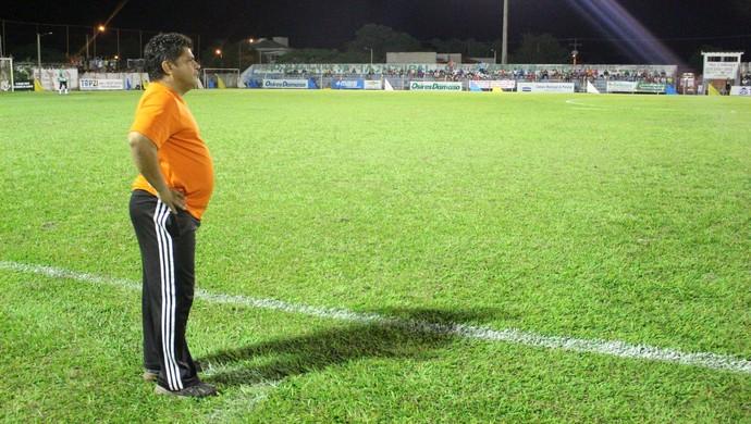 Célio Ivan está perto do título Tocantinense com o Tocantins (Foto: Vilma Nascimento/GloboEsporte.com)
