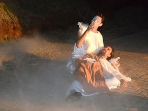 26ª edição da Paixão de Cristo de Piracicaba começa neste sábado (28) (Foto: Claudia Assencio/G1)