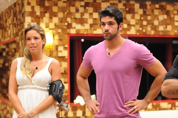 Cadu com Fernanda na final do BBB10 (Foto: Globo / Frederico Rozário)
