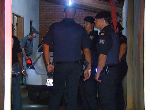 Guarda Municipal foi baleado dentro de casa em Hortolândia (Foto: Reprodução / EPTV)