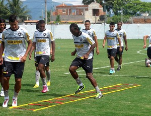 andrezinho antonio carlos botafogo treino (Foto: Thales Soares / Globoesporte.com)
