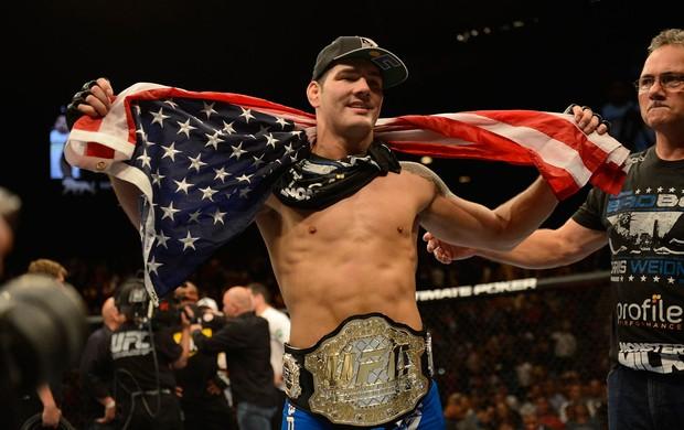 Anderson Silva x Chris Weidman UFC 162 (Foto: Getty Images)