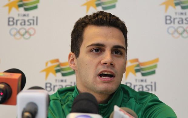 leonardo de deus natação londres 2012 olimpiadas (Foto: Satiro Sodré/AGIF)