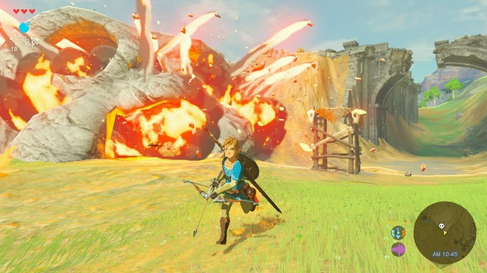 The Legend of Zelda: Breath of the Wild permite customizar as roupas e equipamentos (Foto: Divulgação/Nintendo)