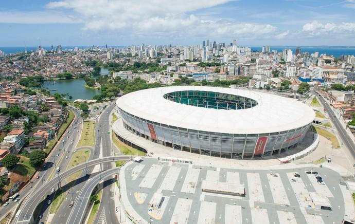 estádio arena fonte nova (Foto: Divulgação  )