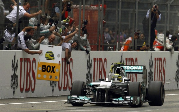 F1 Gp da China Nico Rosberg (Foto: Reuters)