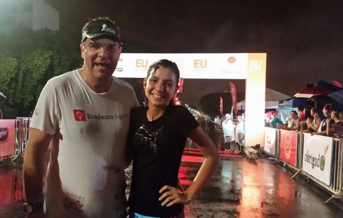 EuAtleta - corrida Brasíla pai e filha (Foto: Renata Domingues)