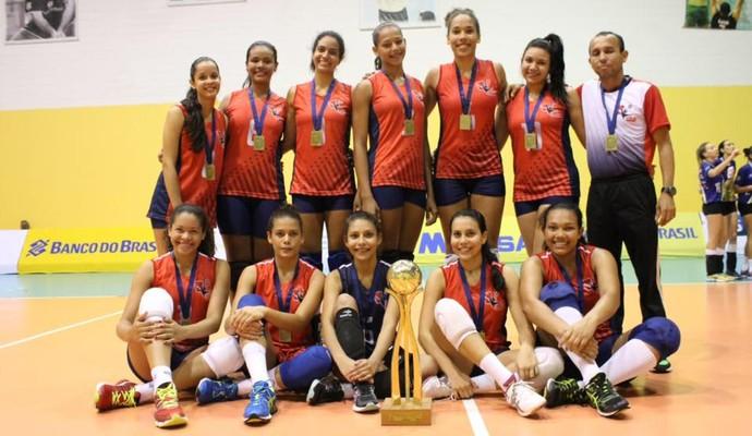 0bb79ed51c Pará conquista Segunda Divisão do Brasileiro de Vôlei Juvenil Feminino