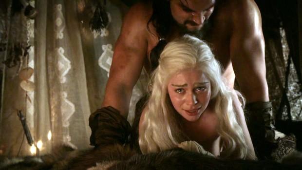 Drogo e Daenerys (Foto: HBO / Reprodução )