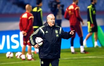 Del Bosque não descarta seguir no comando da Espanha após a Euro