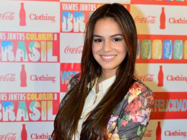 Bruna Marquezine no Fashion Rio (Foto: André Muzell / AgNews)