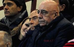 Silvio Berlusconi, Francesca Pascale e Adriano Galliani (Foto: Getty Images)