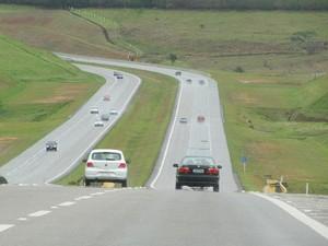 Trecho da Rodovia Carvalho Pinto (Foto: Divulgação/ Ecopistas)