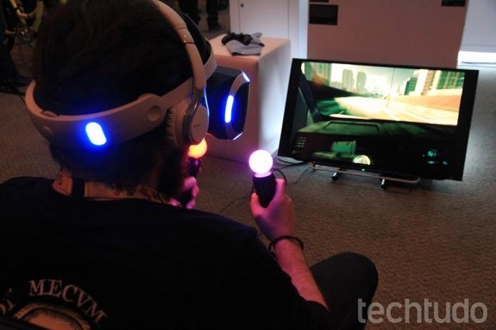Morpheus, da Sony, ainda deverá demorar muito até chegar ao mercado (Foto: Viviane Werneck/TechTudo)