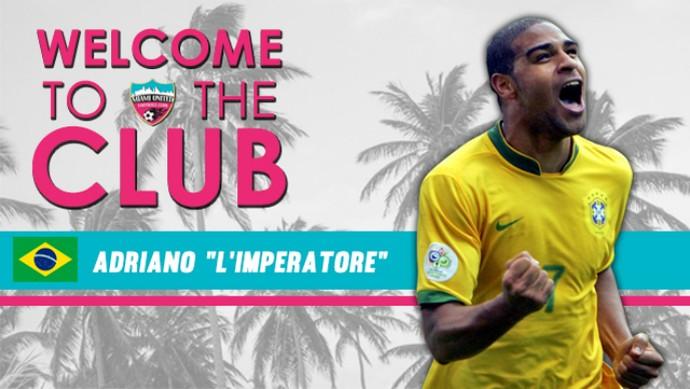 Adriano Miami United (Foto: Reprodução / Twitter)