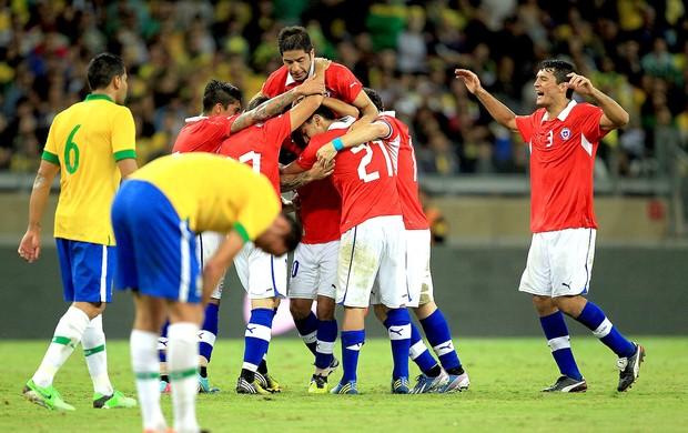 Vargas gol Chile Brasil (Foto: EFE)