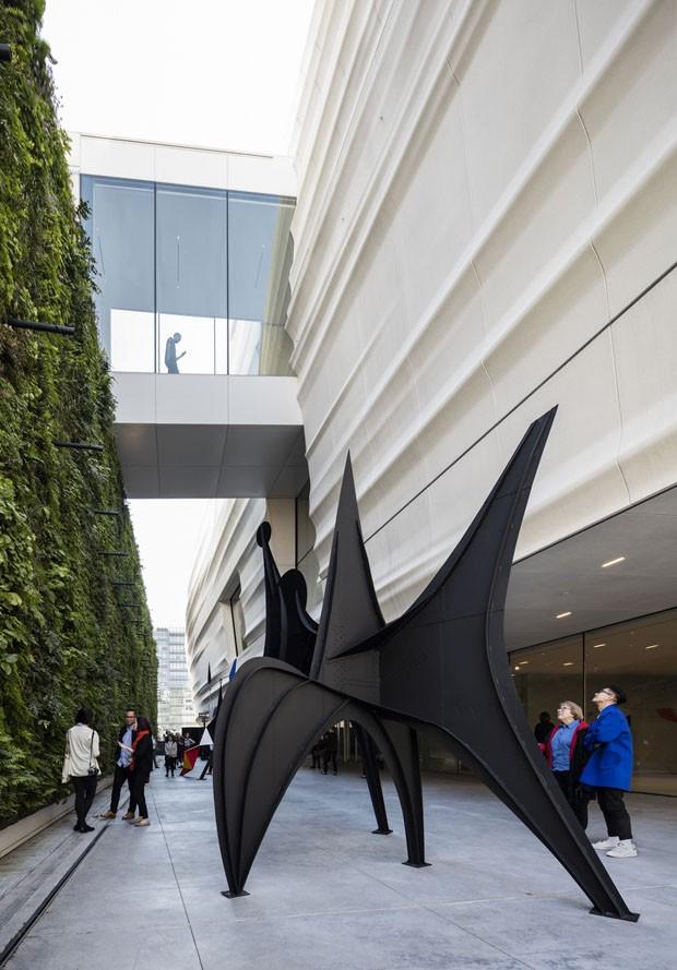 O novo Museu de Arte Moderna de São Francisco (Foto: Henrik Kam/Divulgação)