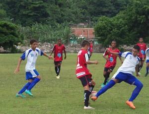 Sub-15 de futebol, Liga de Guarujá (Foto: Guilherme Novaes / Divulgação)