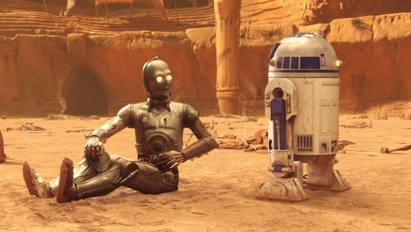 R2-D2 em cena de Star Wars: Episódio II - O Ataque dos Clones (2002) (Foto: Reprodução)