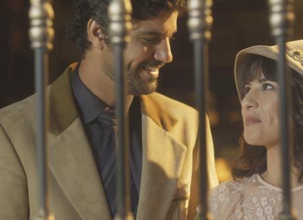 'Tempo de Amar': Inácio e Lucinda dão entrada no casamento