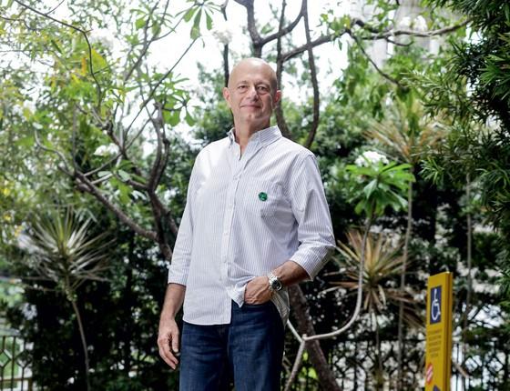 Demetrio em Fortaleza .Ele criou um instituto após a morte do filho por asfixia (Foto: Jarbas Oliveira/ÉPOCA)